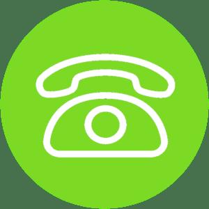 icona verde telefono